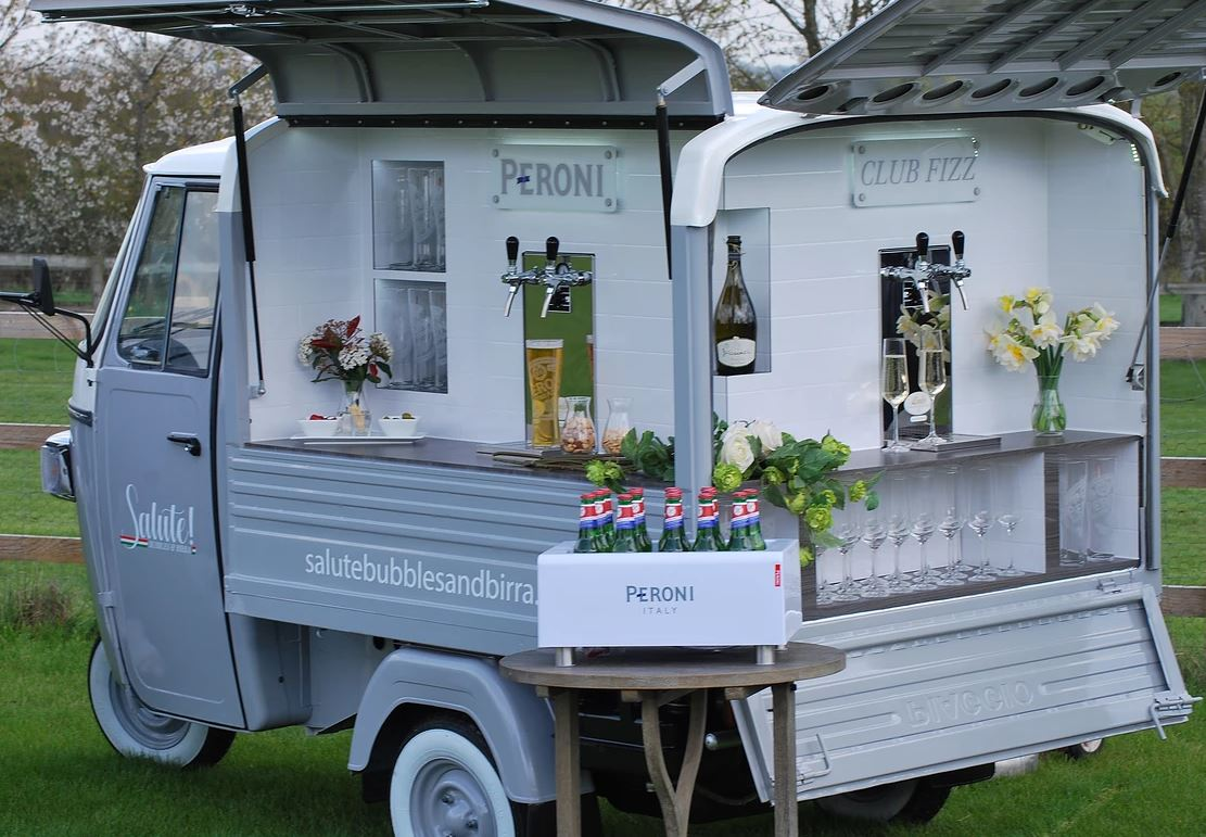 Prosecco Van For Hire